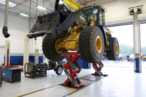 Top East Coast Heavy Construction Firm, D'Annunzio & Sons, Taps Heavy Duty Vehicle Lifts from Stertil-Koni