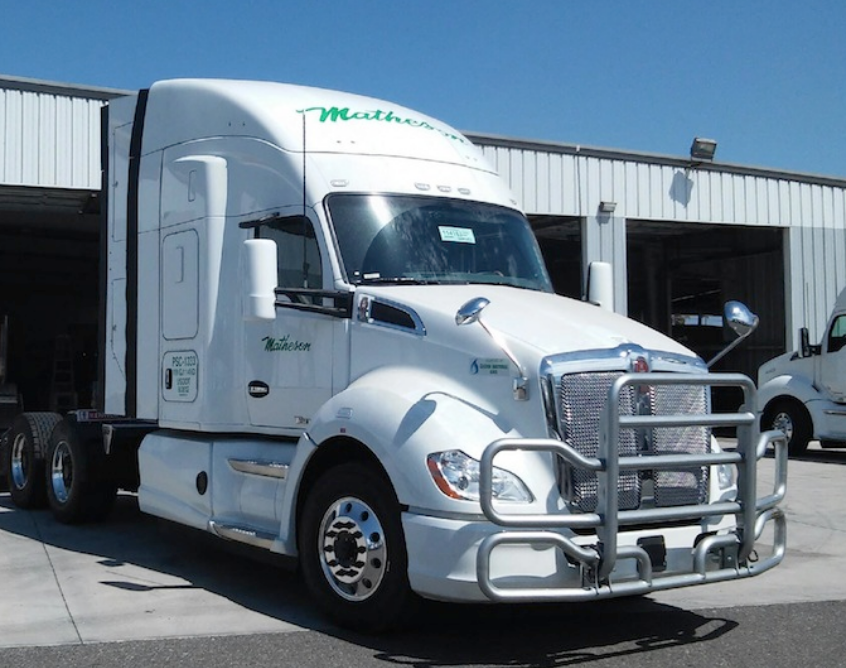 Matheson Trucking Adds 27 CNG Tractors to its Fleet
