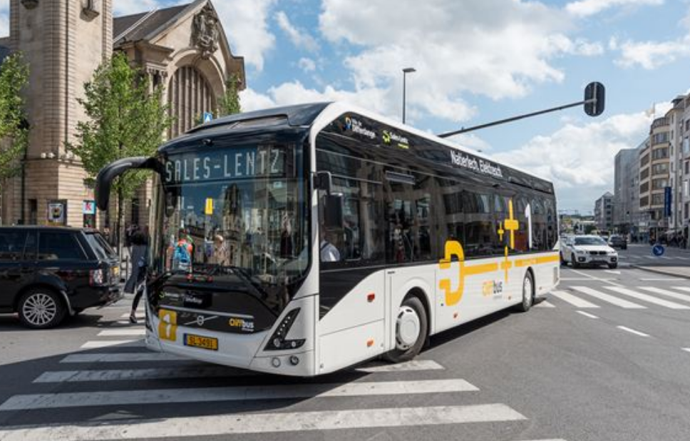 Volvo Rolls with Electric Buses in Luxemburg