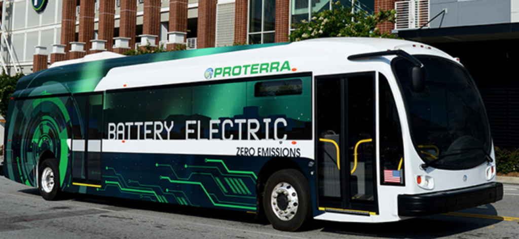 Electric Bus Maker Proterra Raises $55 Million