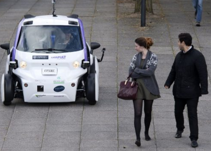 autonomous e car
