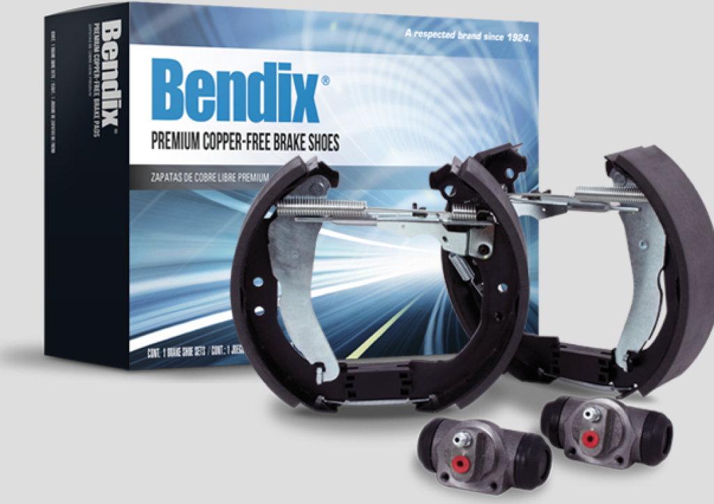 New Bendix® Automotive Brake Shoe Kits Reduce Installation Time