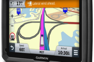 New Truck Driver Garmin Navigation Device with Built-in WiFi
