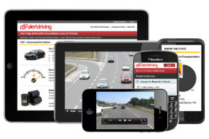 Evolved Safety Partners with AlertDriving on Driver Training Options