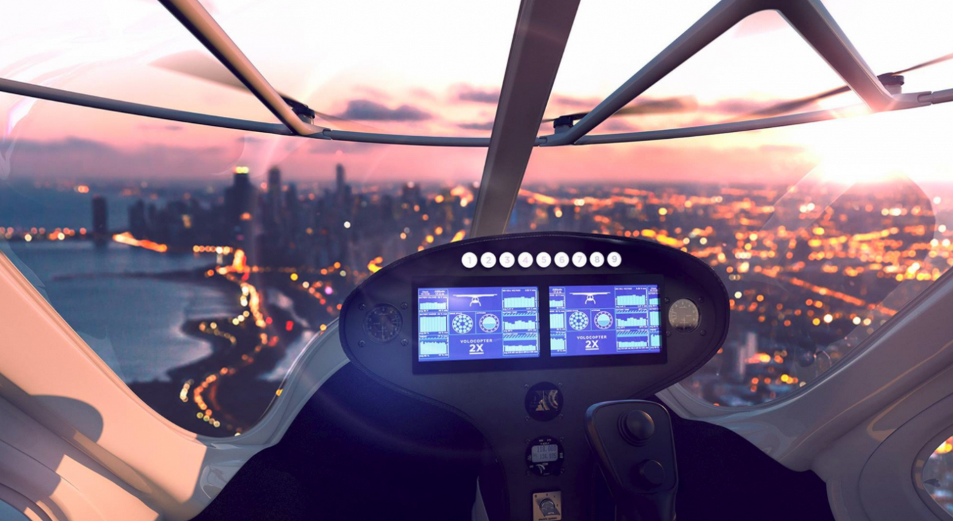 automated flying taxi