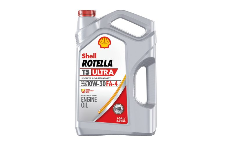 Shell Rotella T5 Ultra 10w 30 Designed For Newest Diesel