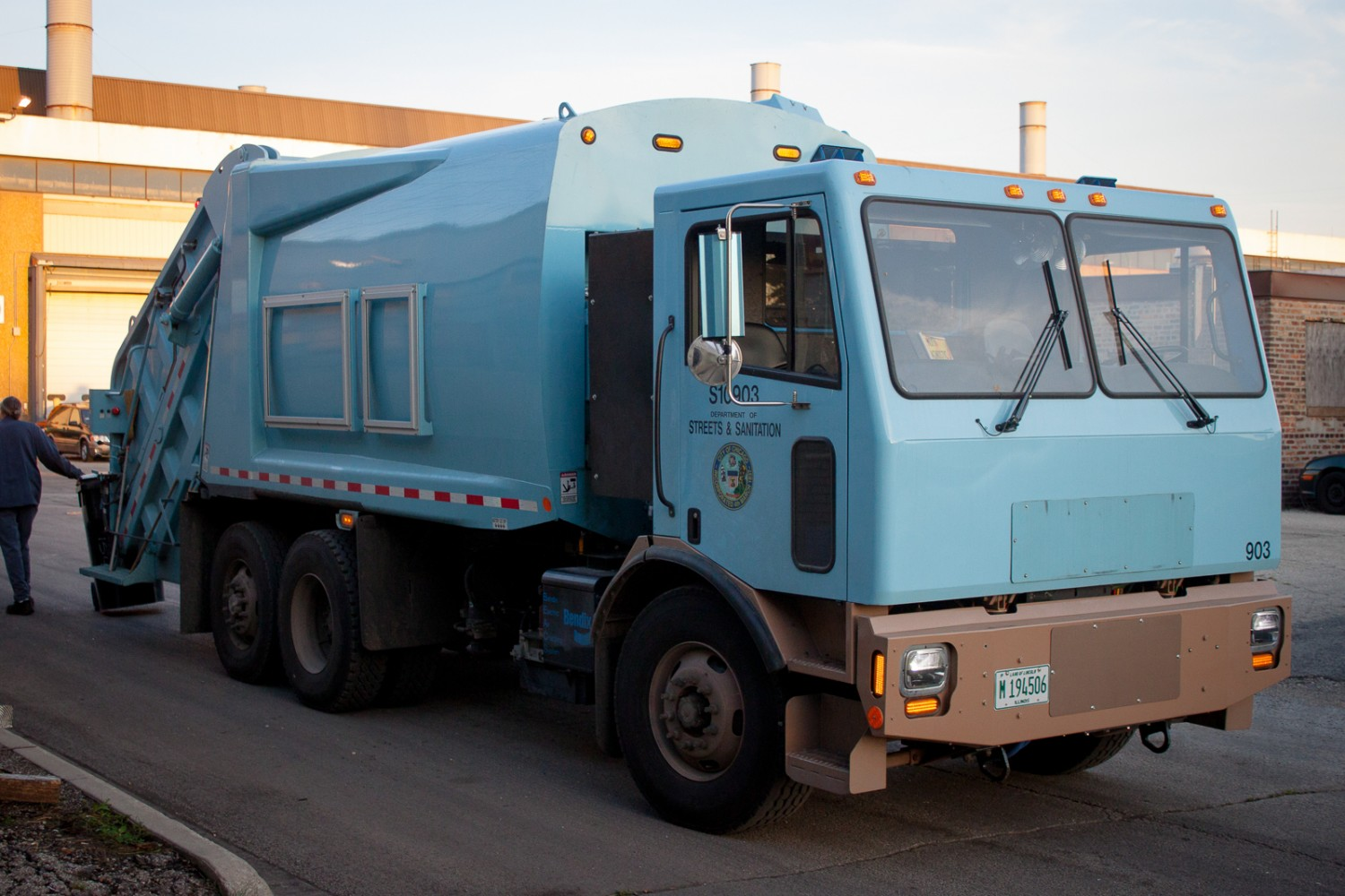Electric Garbage Trucks