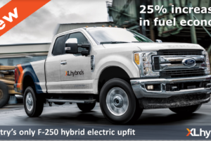 Ford F-250 Pickups and Fleet Customers to Get Hybrid Electric Upfit from XL Hybrids