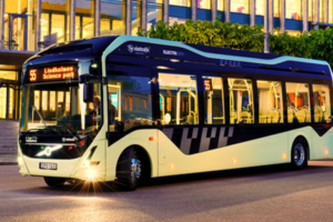 New Electric Bus from Volvo with Greater Range