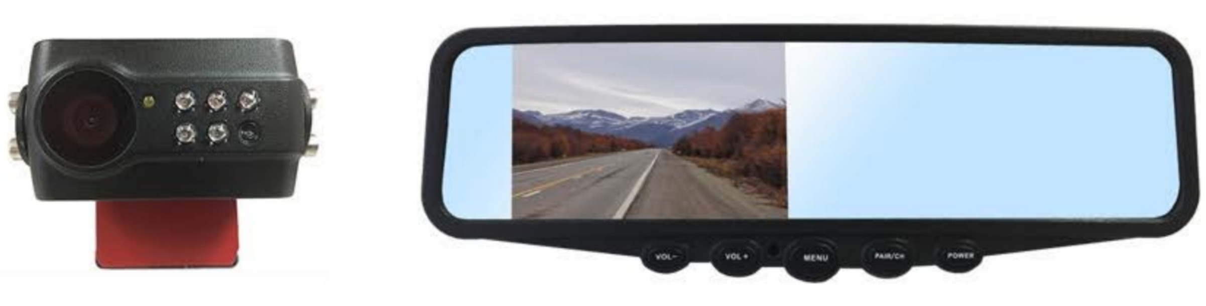 New Automotive Aftermarket Backup Camera System Fleet