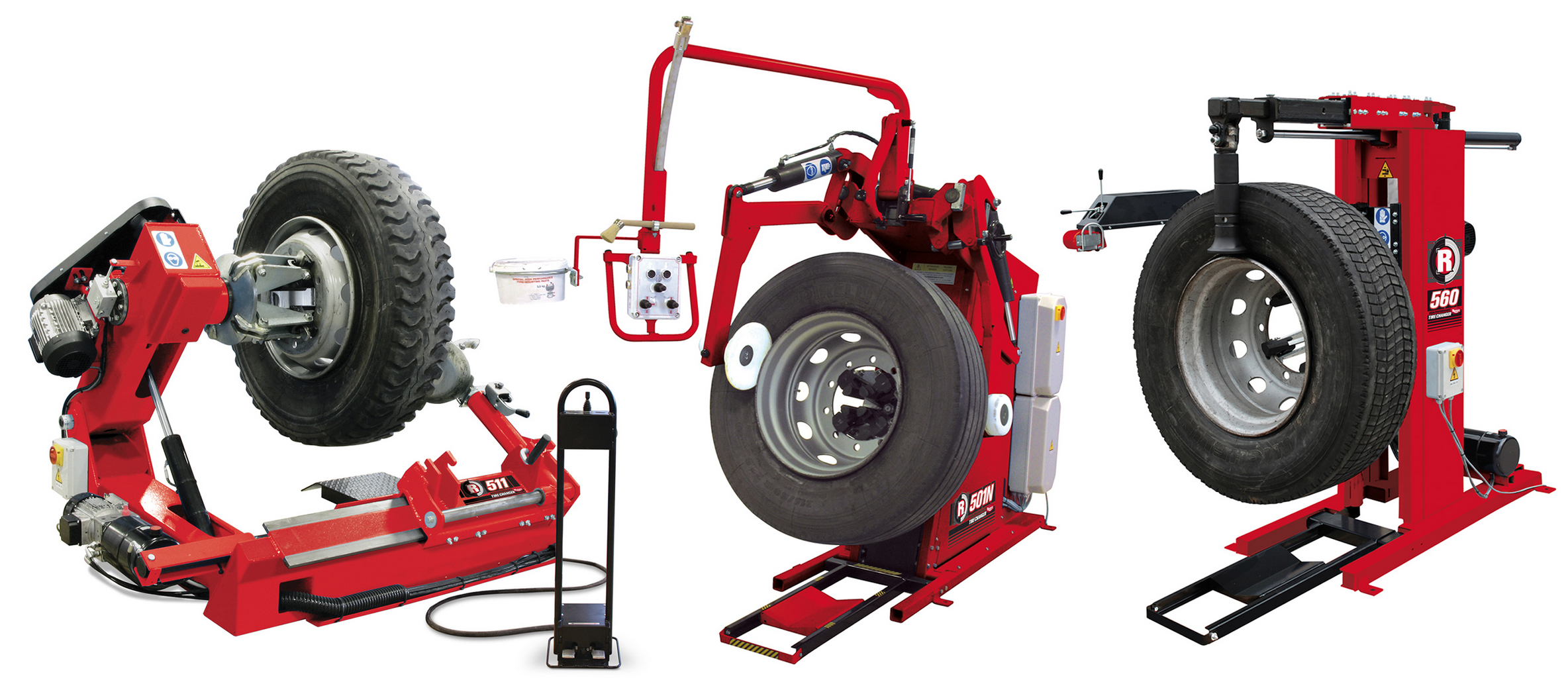 New Heavy-Duty Tire Changers from Rotary