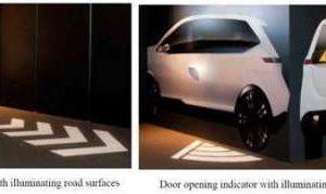 Mitsubishi Introduces Signaling System to Indicate Vehicle Movement