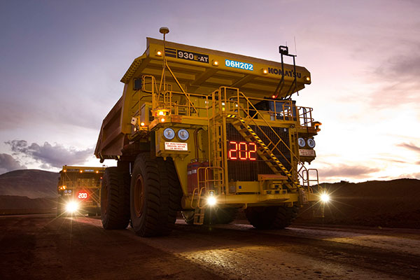 Autonomous Truck Fleet