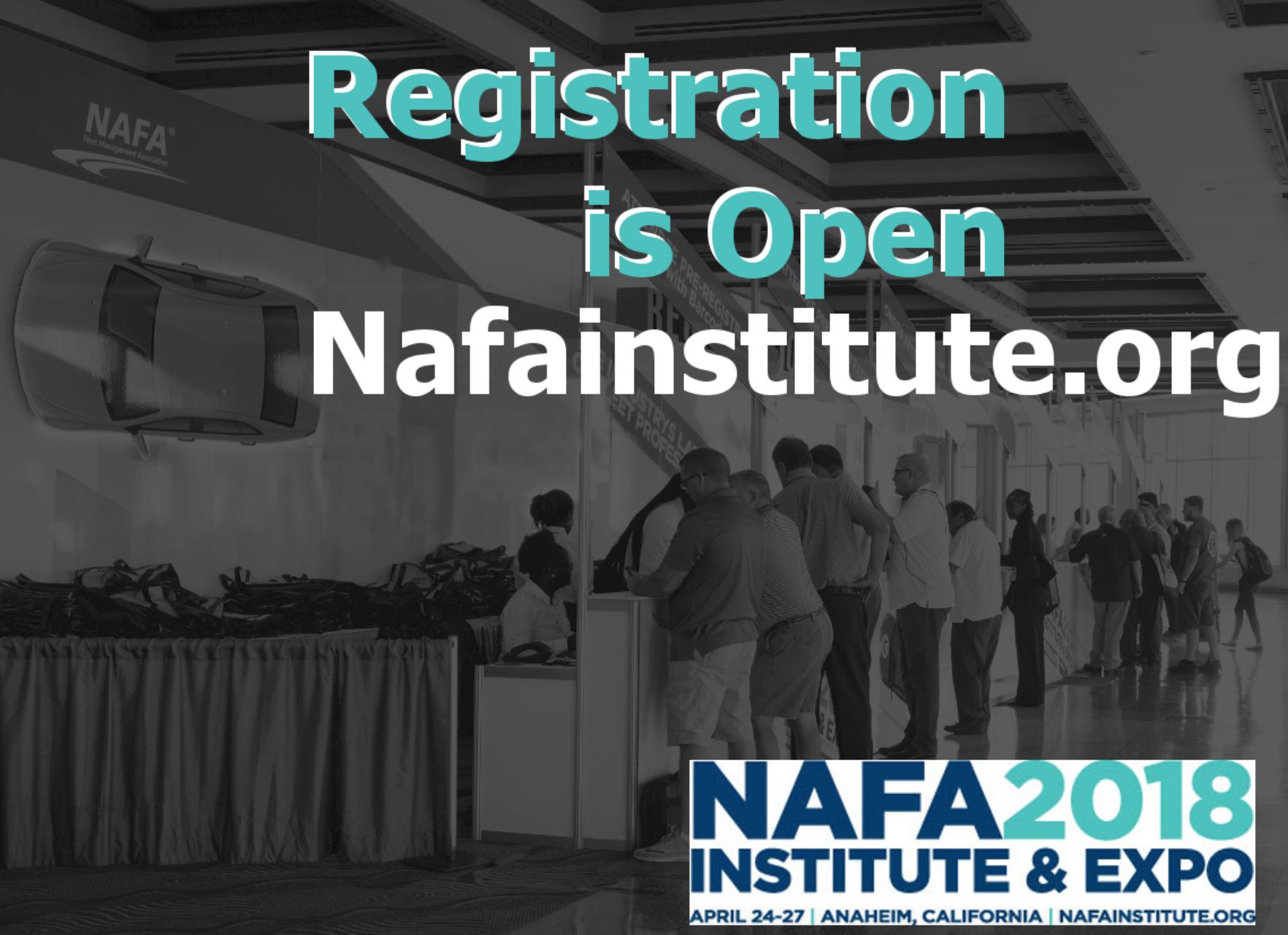 NAFA Opens Registration for 2018 Institute & Expo