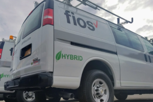Verizon's  New York Van Fleet Goes Hybrid Electric