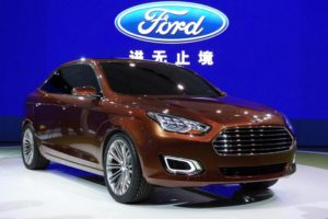 Ford Plans More Smart Vehicles in China Growth Plan