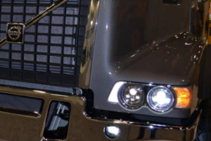 Volvo Trucks Introduces New LED Headlights for VHD Series Trucks