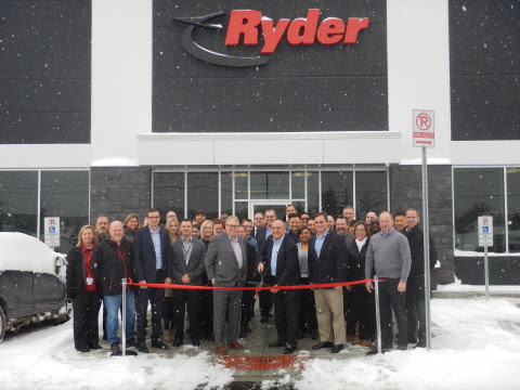 Ryder Opens New Logistics Center In London Ontario