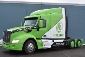 Hyliion Releases Trial Hybrid Electric Truck Fleet