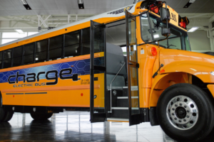 Navistar Takes New Electric School Bus on the Road