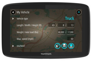 TomTom Debuts New GPS Device for Truckers NA