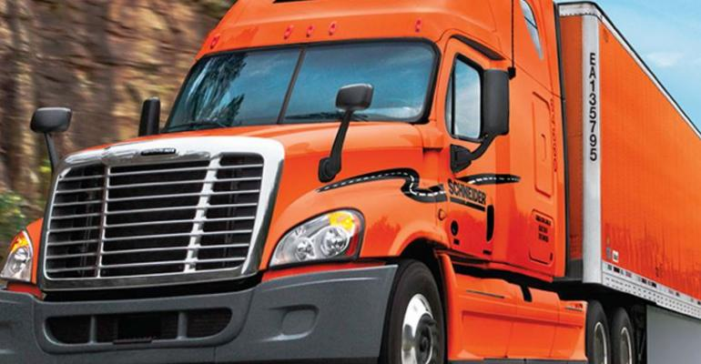 Schneider National First Quarter Revenues And Net Up