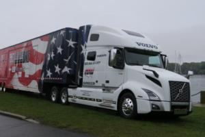 Volvo Dedicates New VNL 760 Model to America's Road Team