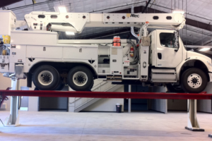 Utility Fleets Turn to HD Vehicle Lifts for Safe, Fast Maintenance