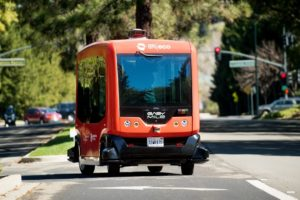 Can Driverless Vans Help Commuters Avoid Congestion?