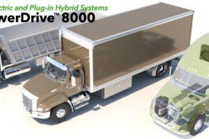Efficient Drivetrains Debuts All Electric Drivetrain for MD Applications
