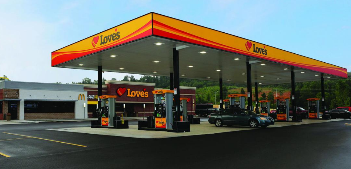 Love's Travel Stops Opens Stores in Florida & North Carolina