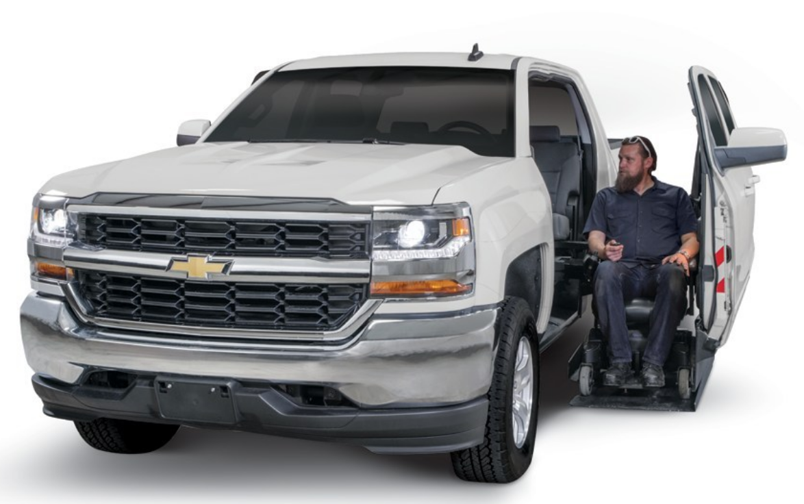 Freedom motors debuts new wheelchair accessible truck and for Freedom motors handicap vans