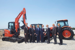Kubota Tractor Completes Land Purchase for Future Logistics Campus in Kansas