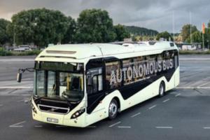 Volvo Demonstrates Autonomous Bus