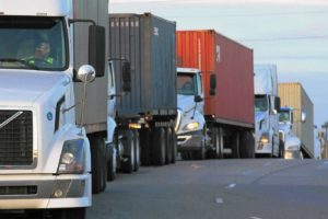 Truckload Linehaul Index up Big, 9.5% YoY