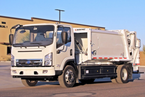 BYD Class-6 Refuse Hauler Tapped by Utah Clean Cities Coalition