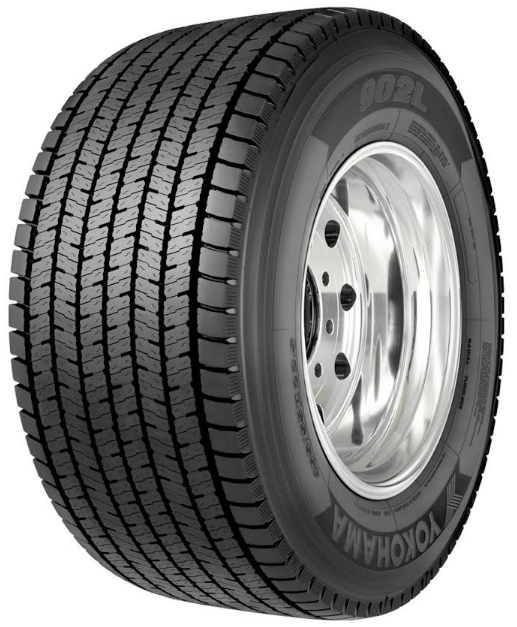 Yokohama Tire's max-mileage 902L™ ultra wide base