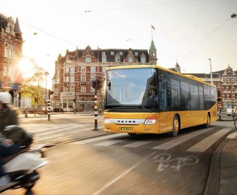 Daimler Bus Setra brand
