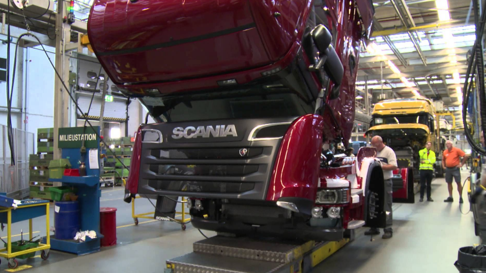 manufacturing plant of Scania