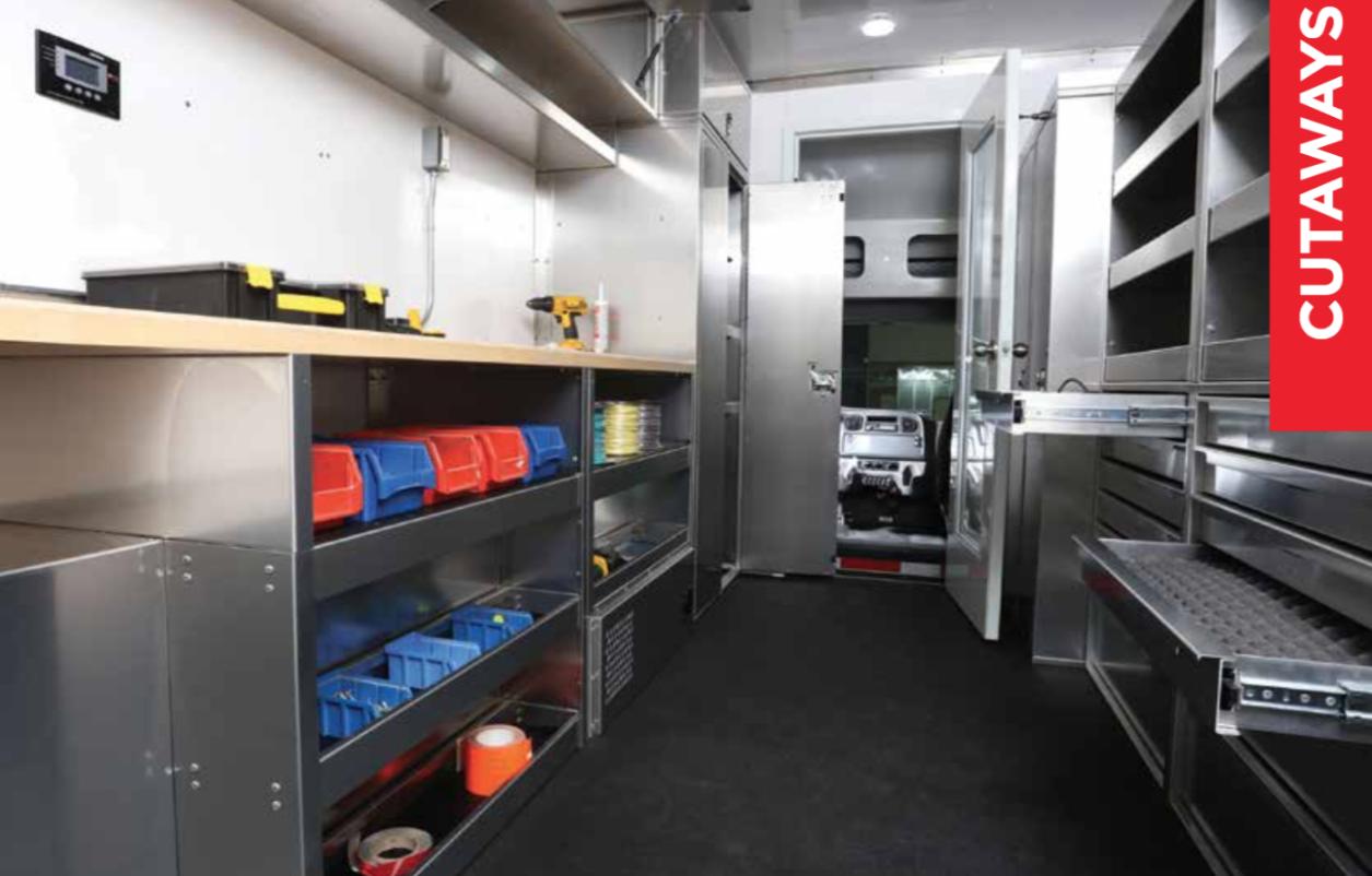 EZ STAK Announces New Van Body Interior