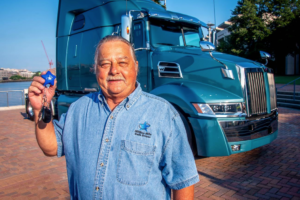 Million Mile Safe Driver Wins New Truck from Landstar