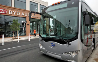 Toronto Transit Orders Electric Buses from BYD
