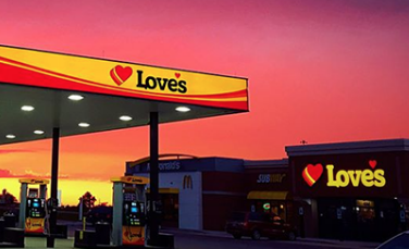 Love's Travel Stops Adds