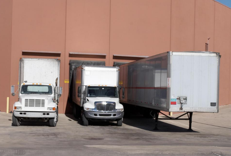 truck/s at loading bay