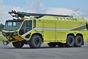 E-ONE Introduces New TITAN® 6X6 Aircraft Rescue and Firefighting Vehicle