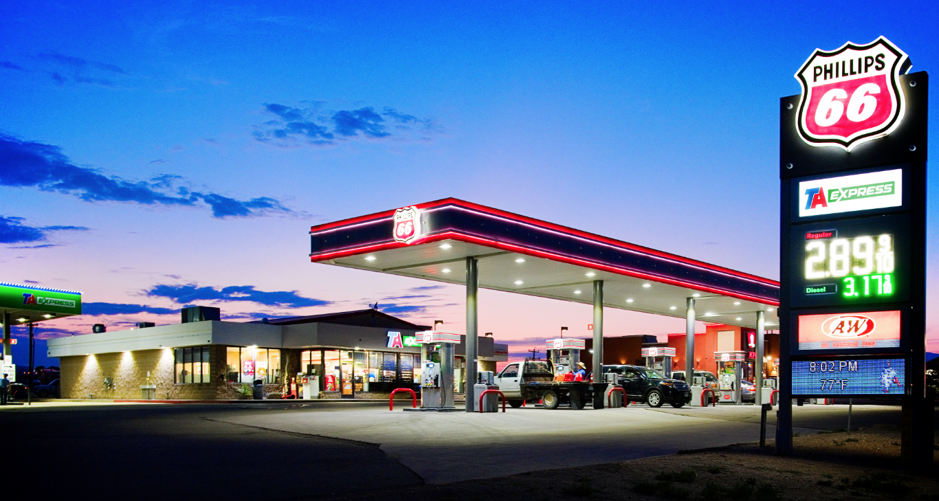 Ta Petro Com >> TravelCenters of America Launches First TA Express Units