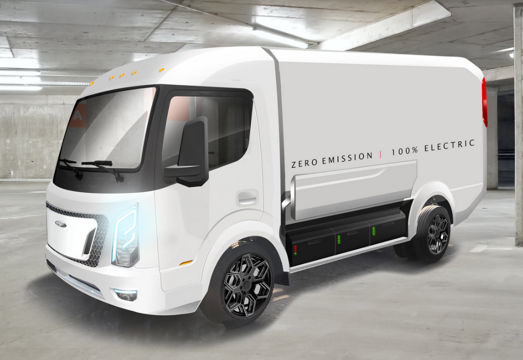 Customized Electric Delivery Trucks