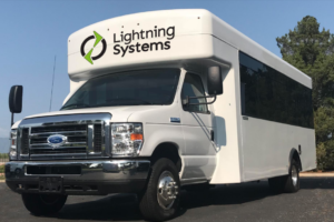 Lightning Systems Debuts New All-Electric Ford E-450