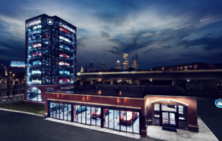 Carvana Unveils its Newest Car Vending Machine in Philadelphia
