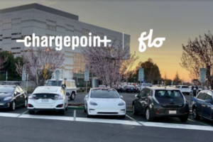 ChargePoint and FLO Partner on e-Vehicle Charging Network